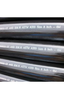 ASTM A333 Grade 6 Carbon Steel Seamless Pipe